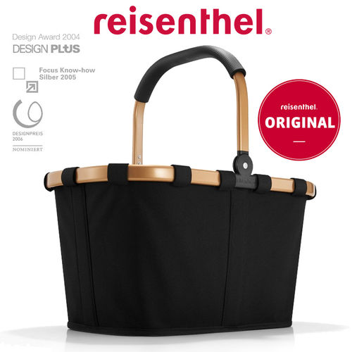 reisenthel - carrybag frame - gold/black
