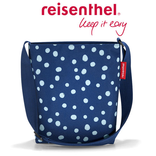 reisenthel - shoulderbag S - spots navy