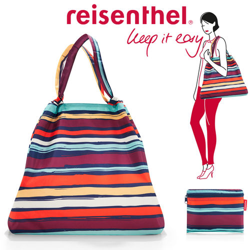 reisenthel - mini maxi loftbag - artist stripes