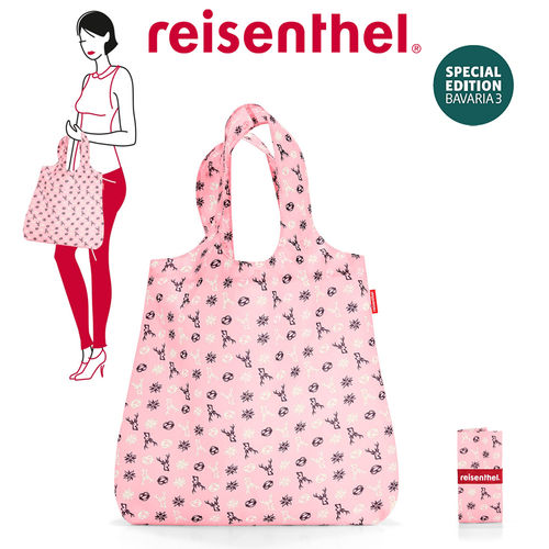 reisenthel - mini maxi shopper - bavaria rose