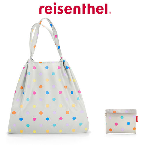 reisenthel - mini maxi loftbag - stonegrey dots