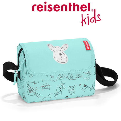 reisenthel - everydaybag - kids - cats and dogs mint