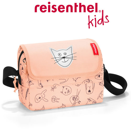reisenthel - everydaybag - kids - cats and dogs rose