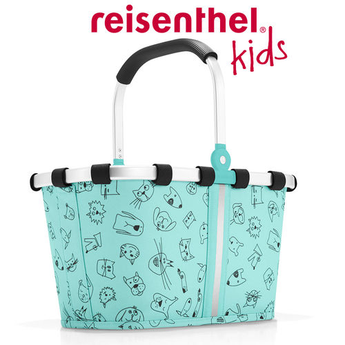 reisenthel - carrybag XS - kids - cats and dogs mint