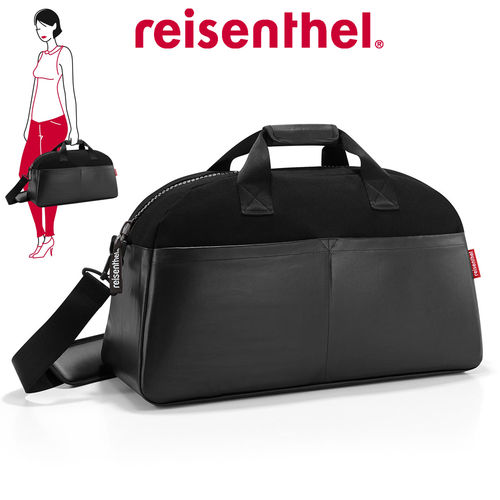 reisenthel - overnighter - canvas black