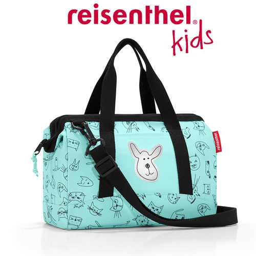 reisenthel - allrounder XS - kids - cats and dogs mint