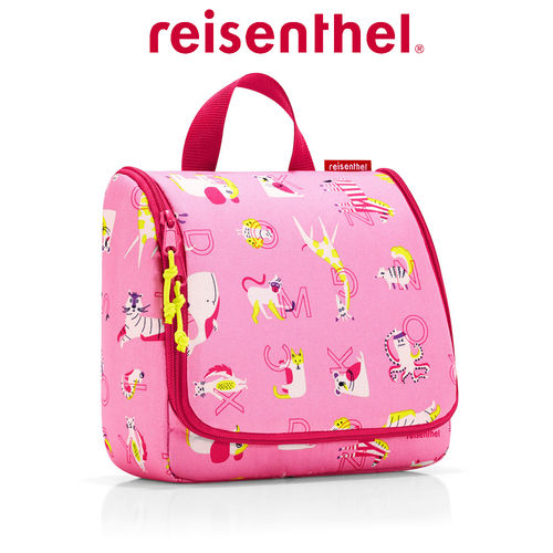 reisenthel - toiletbag - abc friends pink
