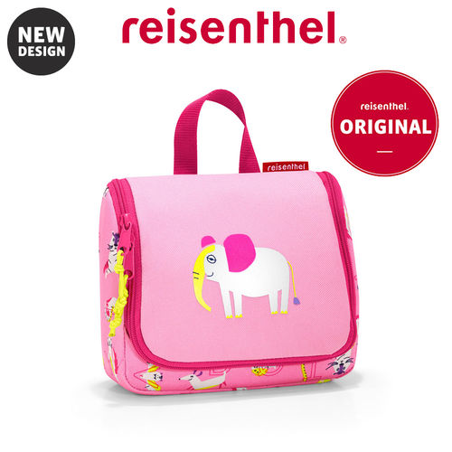 reisenthel - toiletbag S - kids - abc friends pink
