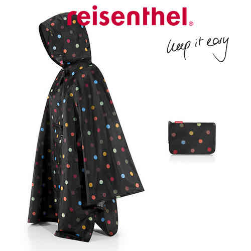 reisenthel - mini maxi poncho - dots