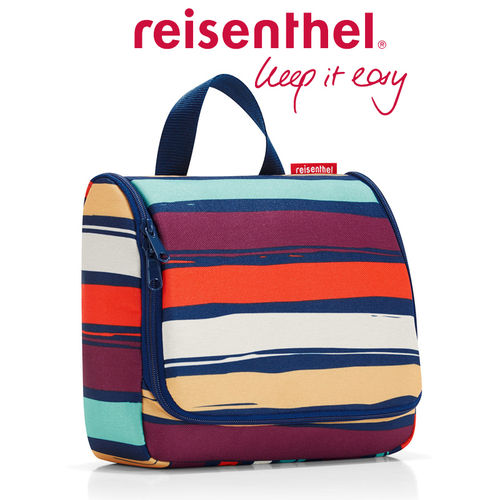 reisenthel - toiletbag - artist stripes