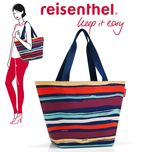 reisenthel - shopper M - artist stripes