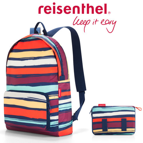 reisenthel - mini maxi rucksack - artist stripes