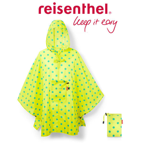 reisenthel - mini maxi poncho - lemon dots