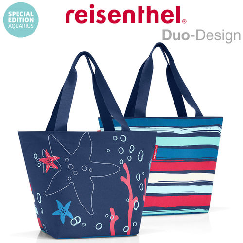 reisenthel - shopper M - special edition aquarius