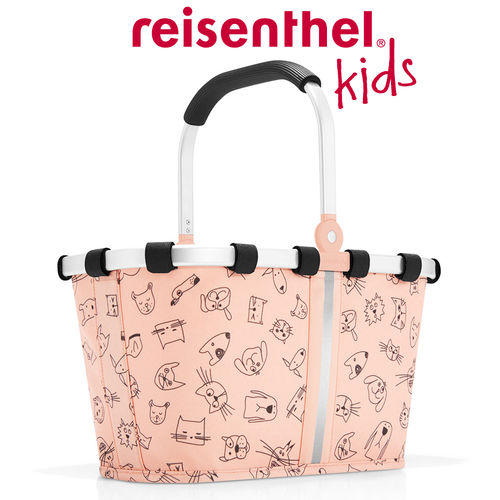 reisenthel - carrybag XS - kids - cats and dogs rose