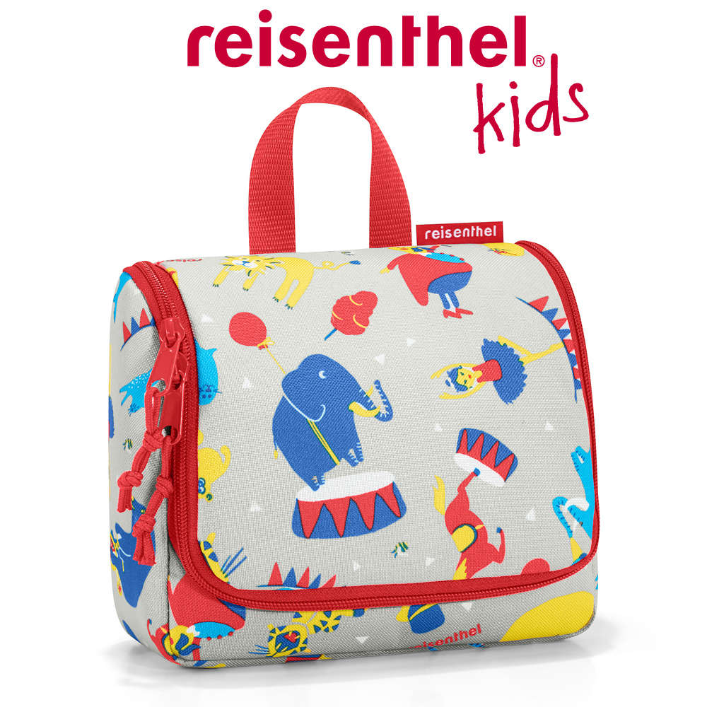 Reisenthel Toiletbag S Kids Trousse Cats and Dogs Rose 18/cm 1,5/l