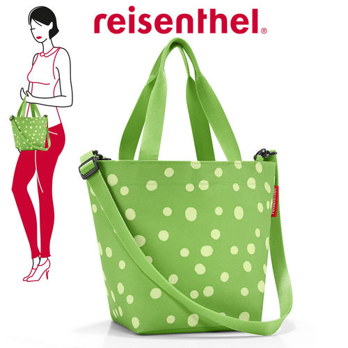 reisenthel - shopper XS - spots green