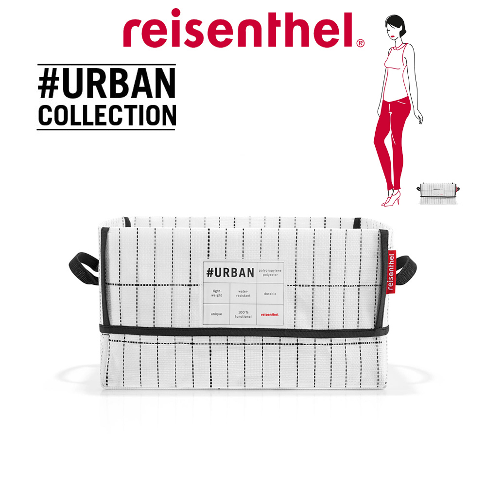 reisenthel - #urban box new york black & white