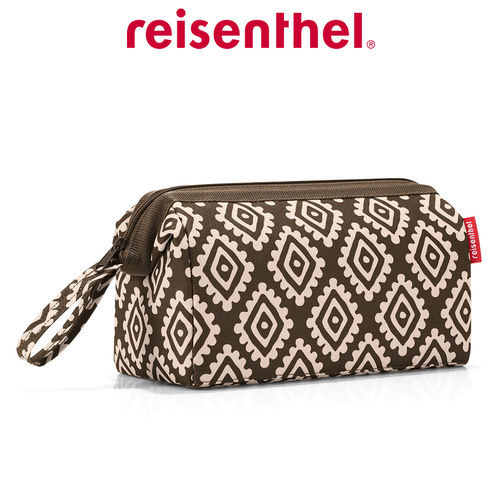 reisenthel - travelcosmetic - diamonds mocha