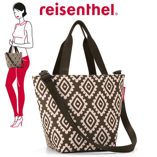 reisenthel - shopper XS - diamonds mocha