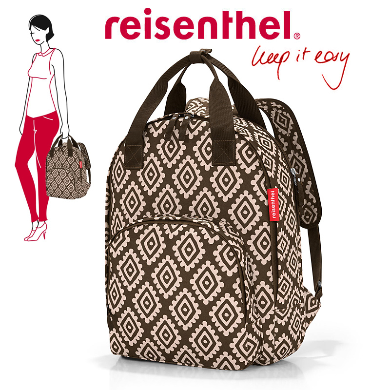 reisenthel - easyfitbag - diamonds mocha