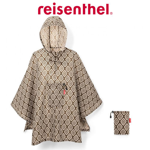 reisenthel - mini maxi poncho - diamonds mocha