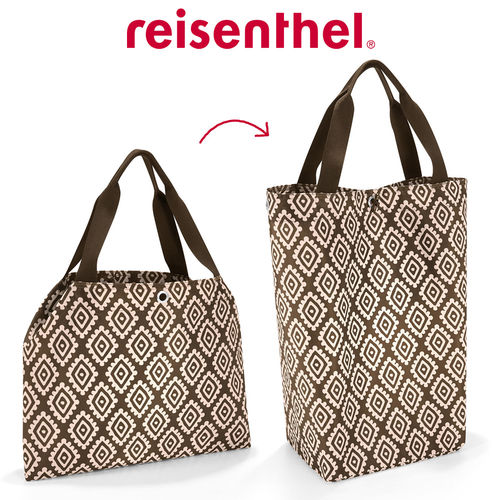reisenthel - changebag - diamonds mocha