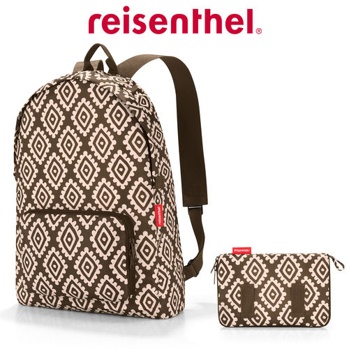 reisenthel - mini maxi rucksack - diamonds mocha