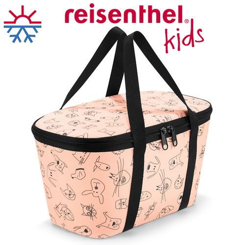 reisenthel - coolerbag XS - cats and dogs rose