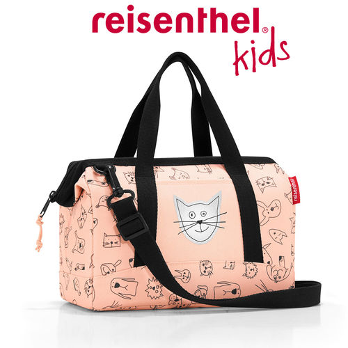 reisenthel - allrounder XS - kids - cats and dogs rose