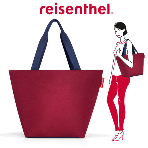 reisenthel - shopper M - dark ruby