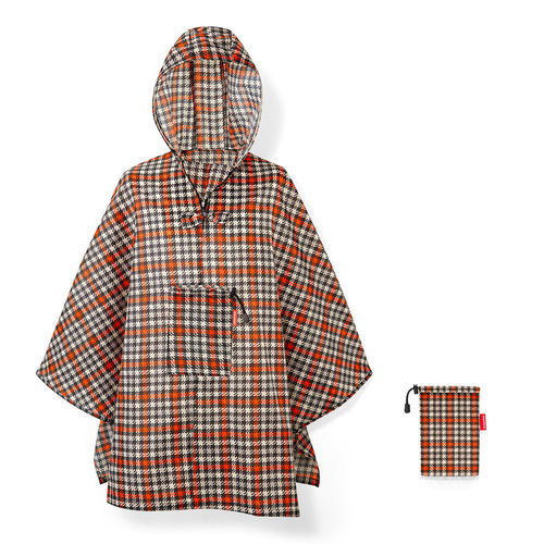 reisenthel - mini maxi poncho - glencheck red