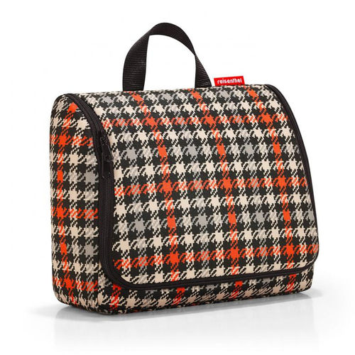 reisenthel - toiletbag XL - glencheck red