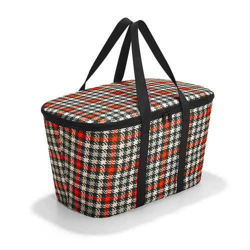 reisenthel - coolerbag - glencheck red