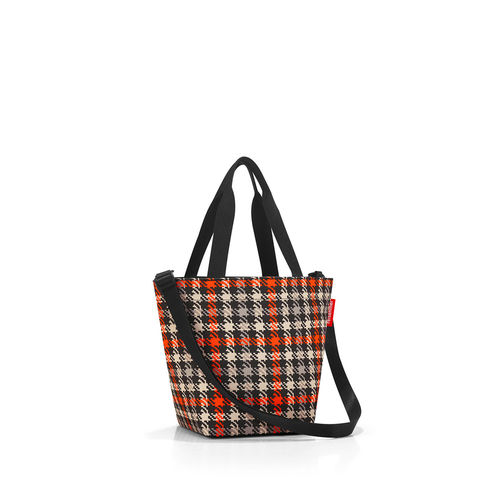 reisenthel - shopper XS - glencheck red