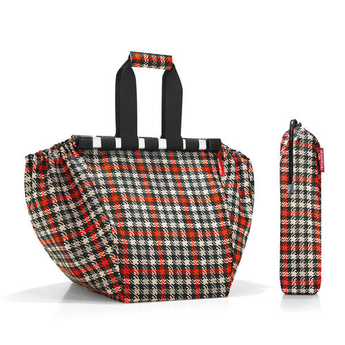reisenthel - easyshoppingbag - glencheck red