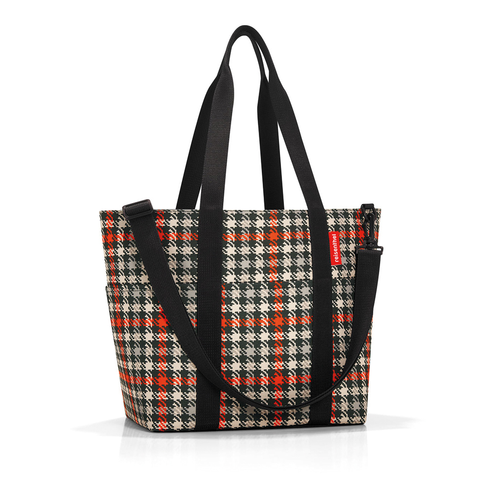 reisenthel - multibag - glencheck red