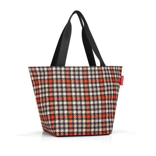 reisenthel - shopper M - glencheck red