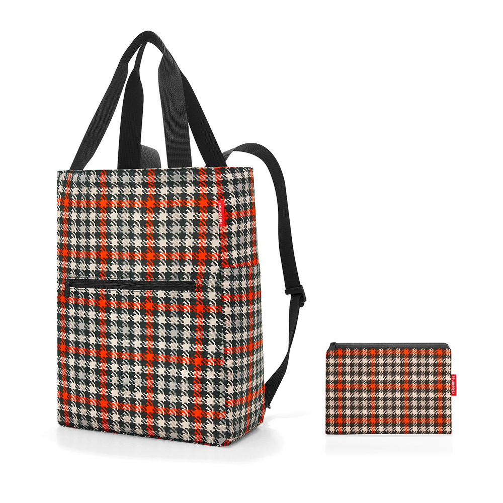 reisenthel - mini maxi 2-in-1 - glencheck red