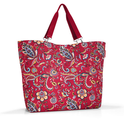 reisenthel - shopper XL - paisley ruby