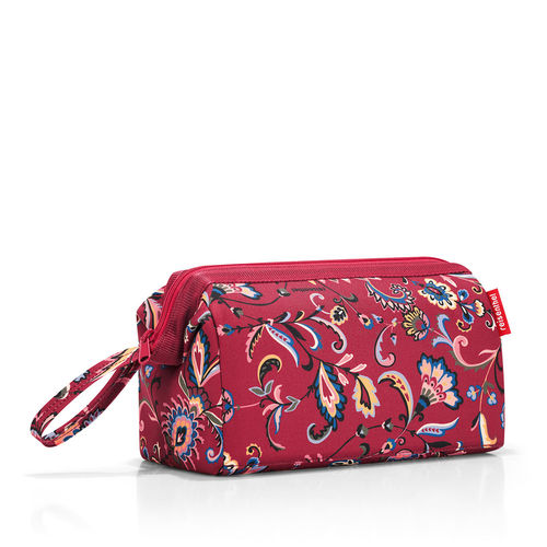 reisenthel - travelcosmetic - paisley ruby