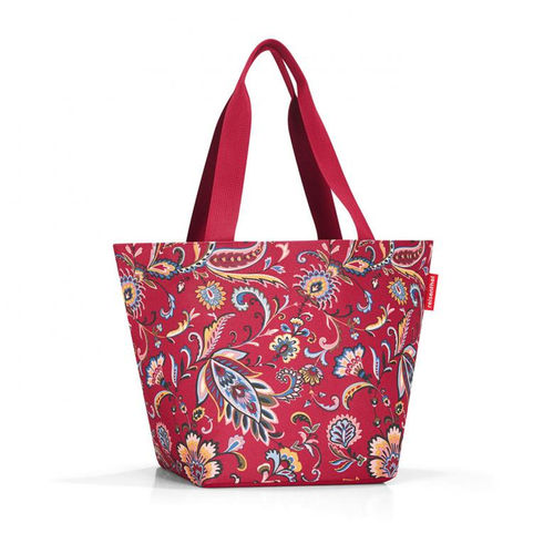 reisenthel - shopper M - paisley ruby
